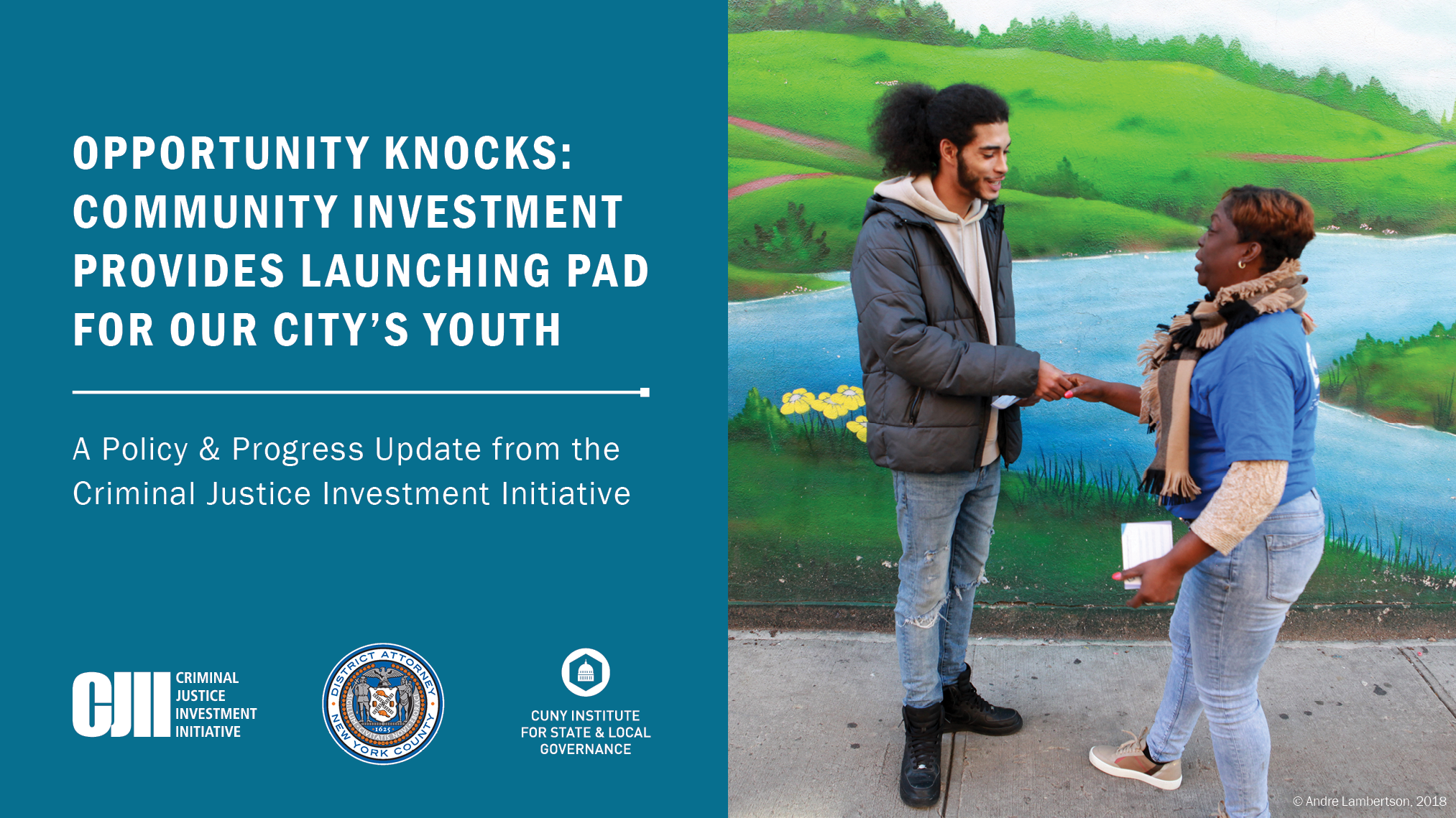 Opportunity Knocks: Community Investment Provides Launching Pad for Our City's Youth